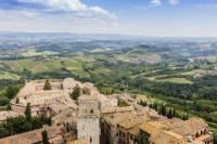 Small Group Pisa Day Trip to Siena, San Gimignano and Monteriggioni Including Wine Tasting