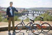 Small-Group Prague City Tour on Historical Bikes