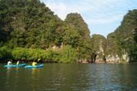 Small-Group Sea Kayaking at Ao Thalane Bay and Hong Island from Krabi