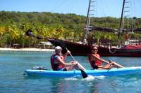 Snorkel Kayak and Turtle Discovery with Honeymoon Beach Break