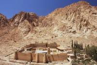 St Catherine's Monastery and Mount Sinai Climb from Sharm el Sheikh including Lunch with a Local