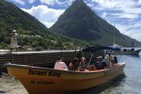 St Lucia Boat Tour to Soufriere: Full Day Private Charter