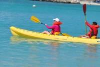 St Maarten Kayak and Snorkel Adventure in Simpson Bay