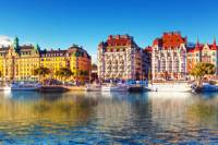 Stockholm Shore Excursion: RIB Sightseeing Cruise of Stockholm