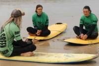 Surf Lesson on Fistral Beach