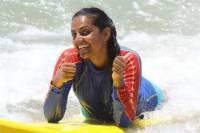 Surfing Lesson at Cheyne Horan School of Surf on the Sunshine Coast