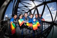 Sydney BridgeClimb: Mardi Gras Disco Climb