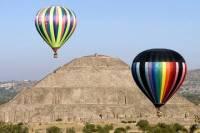 Teotihuacan Pyramids Hot-Air Balloon Tour