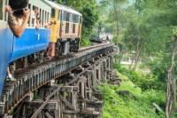 Thai Burma Death Railway Bridge on the River Kwai Tour from Bangkok