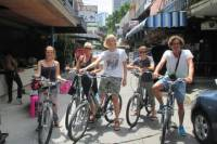 Thai Tapas Food Experience by Bicycle Including Dinner