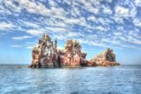Todos Santos and Espiritu Santo Island Snorkel Expedition from Los Cabos
