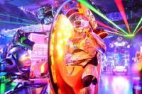 Tokyo Robot Cabaret Show Including Dinner at 'Alice in Wonderland' Themed Restaurant