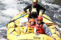 Tongariro River Family Float Rafting