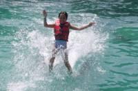 Tortola Dolphin Swim with Round-Trip Ferry from St John