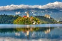 Tour of Ljubljana: Lake Bled and Slovenia's Capital