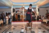 Traditional Greek Taverna Dinner Show in Santorini