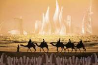 Trip Package From Dubai: City Tour, Desert Safari and Dhow Dinner Cruise
