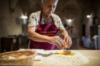 Tuscan Castle and Ancient Cellars Small Group Tour with Pasta Making Class and Wine Tasting