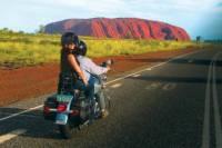 Uluru Sunrise, Base Walk and Harley Davidson Tour