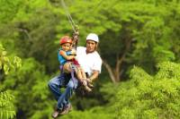 Vandara Adventure Combo: Horseback Riding, Ziplining and Hot Springs