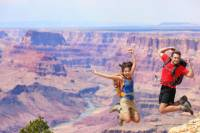 Viator Exclusive: Grand Canyon South Rim Overnight Trip with Mule Ride from Las Vegas