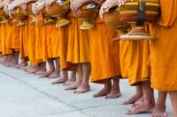 Viator Exclusive: Morning Buddhist Almsgiving, Grand Palace and Flower Market Tour in Bangkok