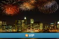 Viator VIP: Exclusive NYC New Year's Eve Luxury Dinner Cruise