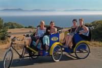 Victorian Gardens and Seaside Vistas Pedicab Tour