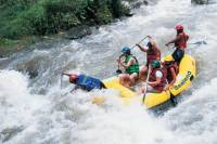 White Water Rafting and Elephant Trekking