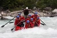 Whitewater Rafting on Kicking Horse River