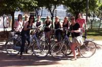 Wine and Tapas Guided Bike Tour in Malaga