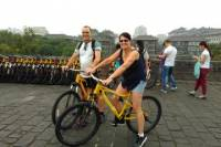 Xi'an Morning Tour: City Wall Opening Gate Ceremony and Bicycle Ride