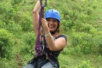 Zipline and Tarzan Swing at Blue River Resort