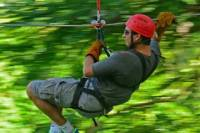 Zipline Canopy plus Jungle River Tubing from Montego Bay and Grand Palladium
