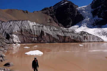 1-Day or 2-Day Hike to El Morado Hanging Glacier from Santiago