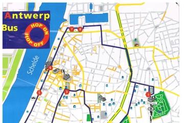 1 Hour Antwerp Citytourbus