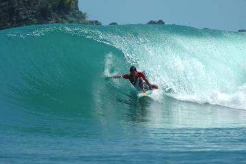 1-Hour Baler Surf Lesson Including Board Rental