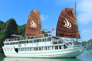 2-Day Glory Legend Cruise on Halong Bay from Hanoi