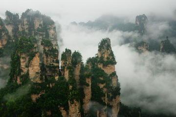 2-Day Zhangjiajie Tour: Tianmen and Tianzi Mountain