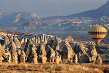 2 Days Cappadocia Small Group Tour From Istanbul by Flight with Optional Balloon Flight