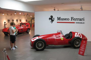 2-Night Ferrari World and Drive Experience with Private Bologna Walking Tour from Florence