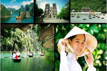 3-Day Northern Vietnam Tour Including Halong Bay Cruise and Kenh Ga Floating Village