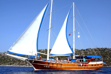 3-Nights Accommodation on a Olympus Yacht Cruise from Fethiye