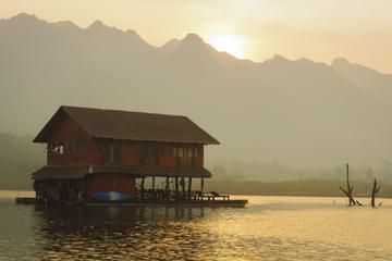 4-Day Khao Laem National Park Lake Safari Adventure including the River Kwai from Bangkok