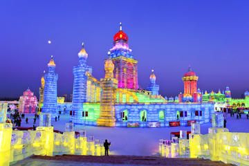 4-Day Private Tour Combo Package of Harbin Ice And Snow Festival Including A Selection of Famous Local Cuisine Lunch and Drinks