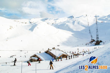 4-Day Ski Trip to Les Deux Alps from Barcelona