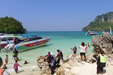 4 Islands Tour by Longtail or Speed Boat from Krabi