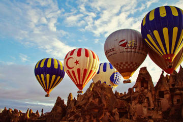 60-Minute Cappadocia Balloon Tour with Champagne Breakfast Included