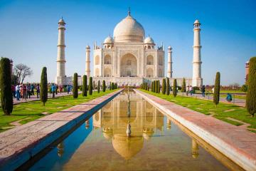 7-Day Heritage of India Tour from Jaipur: Ramathra Fort and Taj Mahal
