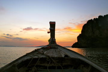 7 Islands Sunset Tour with BBQ Dinner and Night Snorkeling from Krabi